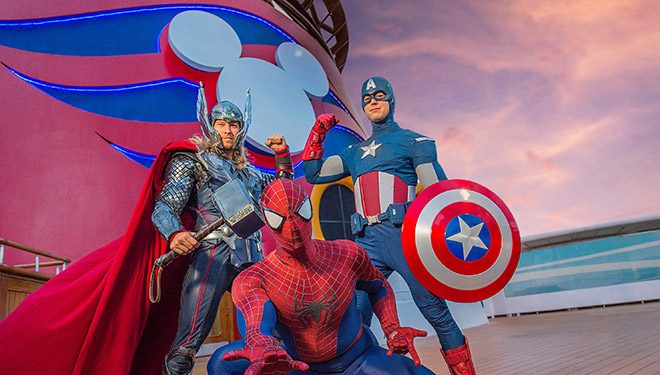 Marvel Day at Sea Announced!
