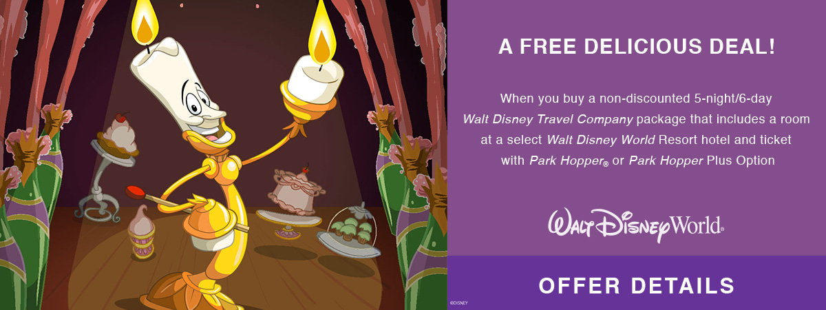 Get a FREE Dining Plan at Walt Disney World